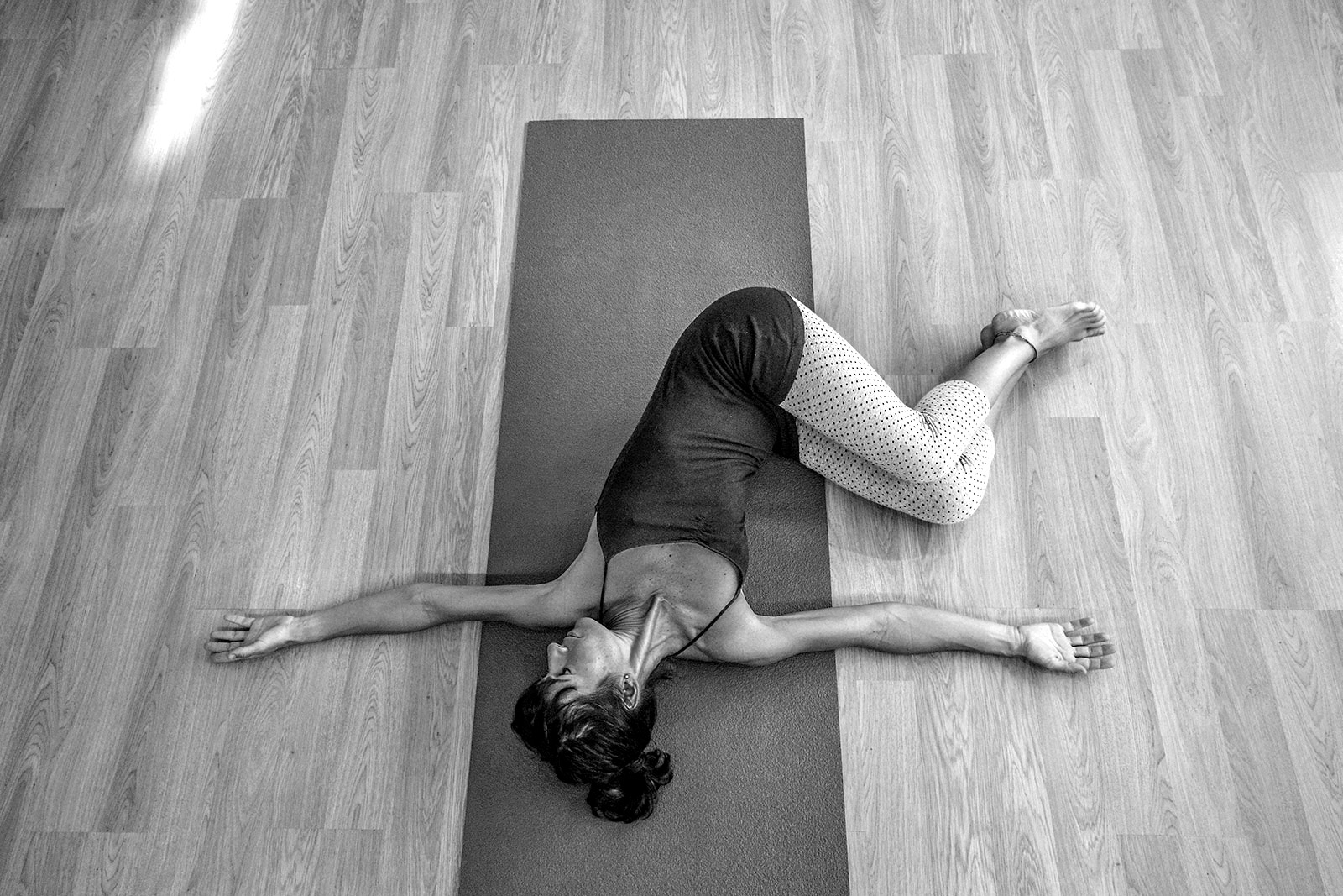 Yoga estiramientos mahón